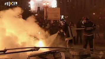 RTL Nieuws Spoedoverleg Roemenië na rellen