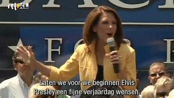 RTL Nieuws Pijnlijk foutje Michele Bachmann