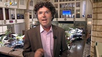RTL Z Nieuws 10:00 Flinke stap terug op de beurs