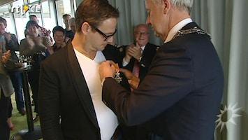 RTL Boulevard Guus Meeuwis krijgt een lintje