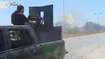 RTL Nieuws Rebellen in Libië winnen langzaam terrein