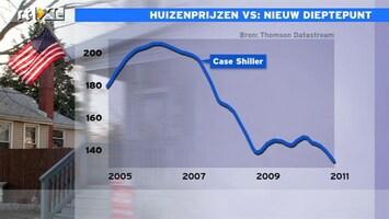 RTL Z Nieuws 15:00 Nieuw dieptepunt in huizenprijzen VS