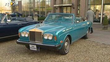 RTL Autowereld Nico's Klassieker: Rolls Royce Corniche convertible 1973