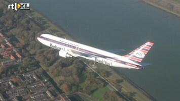 RTL Nieuws Laatste passagiersvlucht Martinair
