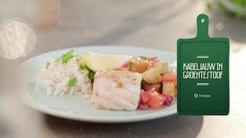 Uit Eigen Keuken: Kabeljauw in groentestoof (fragment)