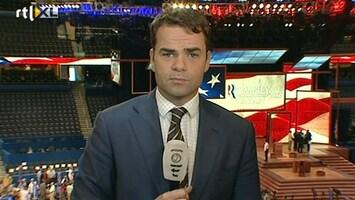 RTL Nieuws 'Romney moet meer van zichzelf laten zien'