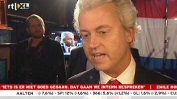 RTL Nieuws Wilders: Nederland is niet Wildersmoe