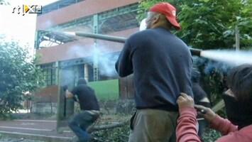 RTL Nieuws Veldslag bij staking Spaanse mijnwerkers