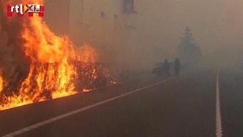 RTL Nieuws Bosbrand in Spanje eist drie levens