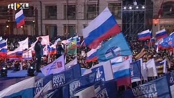 RTL Nieuws Poetin weer president van Rusland