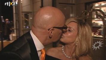 RTL Boulevard Connie Breukhoven ruikt kroket Maik de Boer
