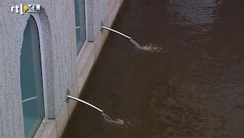 RTL Nieuws Groninger Museum bedreigd door hoogwater