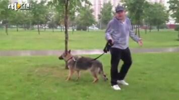 Editie NL Bah! Vrouw pakt baasje hond smerig terug