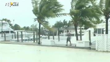 RTL Nieuws Orkaan Irene over Bahama's