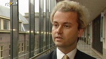 RTL Nieuws De eerste keer van Geert Wilders