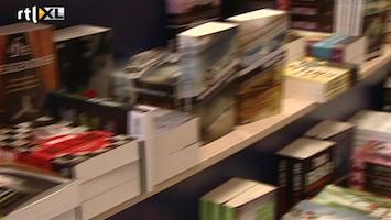 RTL Nieuws Het gaat niet goed met de boekenbranche