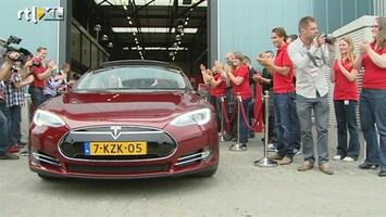 RTL Nieuws Elektrische Tesla's met de 'T' van Tilburg