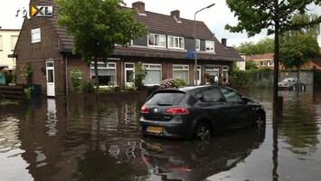 RTL Nieuws Veel wateroverlast door hevige regenval