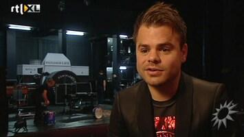 RTL Boulevard Van Velzen over theatershow en baby