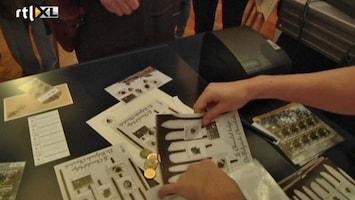 RTL Nieuws Belgische postzegels met chocoladesmaak op de markt