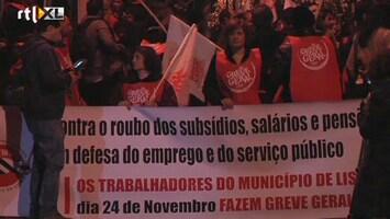 RTL Nieuws Staking legt Portugal lam