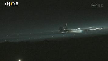 RTL Nieuws Laatste landing spaceshuttle