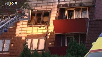 RTL Nieuws Explosie door gevaarlijke stoffen in Emmen