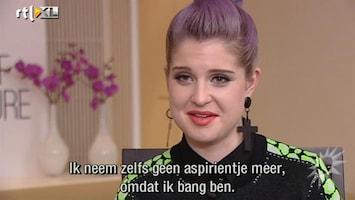 RTL Boulevard Kelly Osbourne was doodsbang na attaque