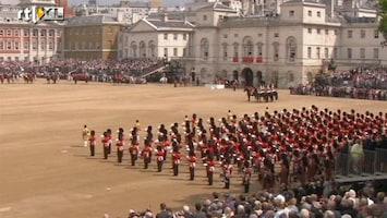 RTL Nieuws Queen viert verjaardag met parade