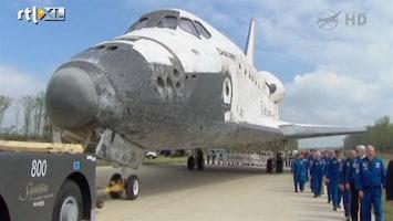 RTL Nieuws Ceremonie voor shuttle Discovery