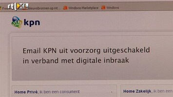 RTL Nieuws Wachtwoorden 500 KPN-klanten op internet