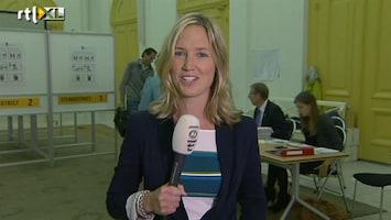 RTL Nieuws Britta Sanders: stembureaus geopend