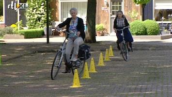 RTL Nieuws Gevaarlijk: fietsende 50-plussers