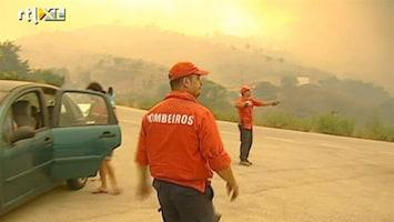 RTL Nieuws Portugal krijgt maar geen controle over bosbranden