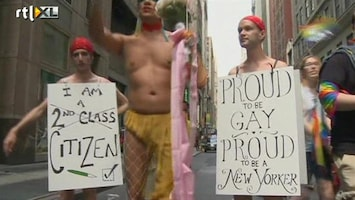 RTL Nieuws Gay Parade in New York