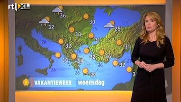 RTL Nieuws Vakantieweer: tropische temperaturen in Griekenland
