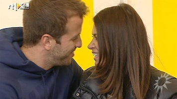 RTL Boulevard Sabia vertelt Sylvie over baby