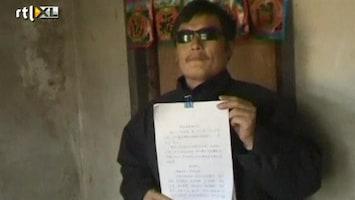RTL Nieuws Blinde Chinese dissident naar VS