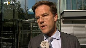 RTL Nieuws Rutte verbreekt stilzwijgen over bezuinigingen