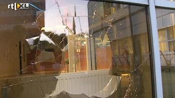 RTL Nieuws Amokmaker vernielt politiebureau Alkmaar