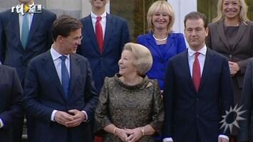 RTL Boulevard Felicitaties van BN'ers voor Beatrix