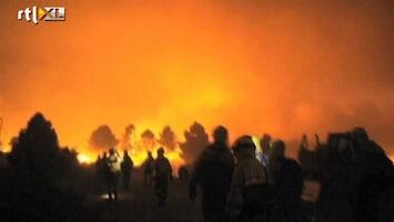 RTL Nieuws Spectaculaire beelden van bosbranden Spanje