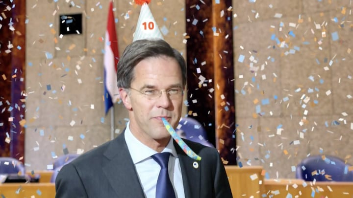 Mark Rutte blikt terug op tien jaar premierschap