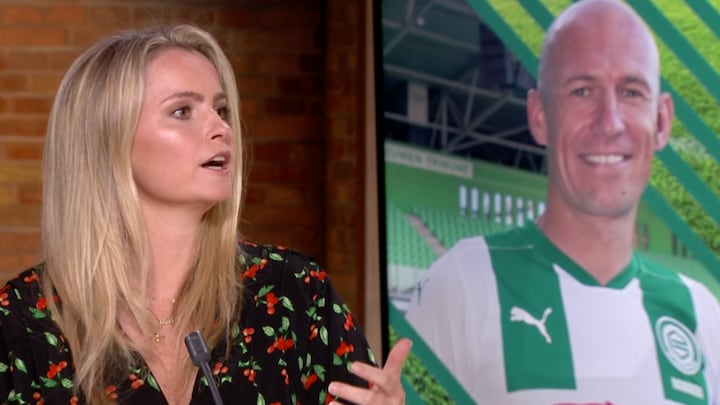 Fatima: 'Robben krijgt geen topsalaris bij FC Groningen'