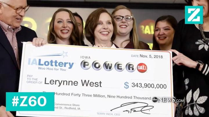'Working class' loterijwinnares geeft liever megabedrag weg.