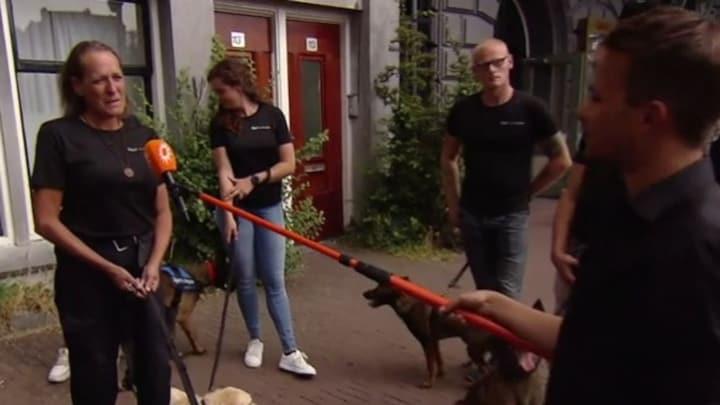 Signi honden brengen laatste eerbetoon aan Peter R. de Vries