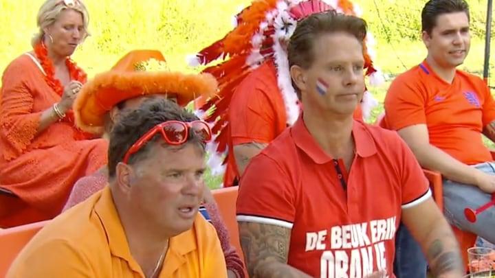 Wolter Kroes kijkt teleurstellende wedstrijd met Danny de Munk