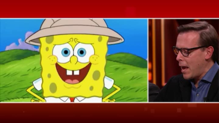 SpongeBob SquarePants: 'Niet kwallenvissen als je Late Night k...