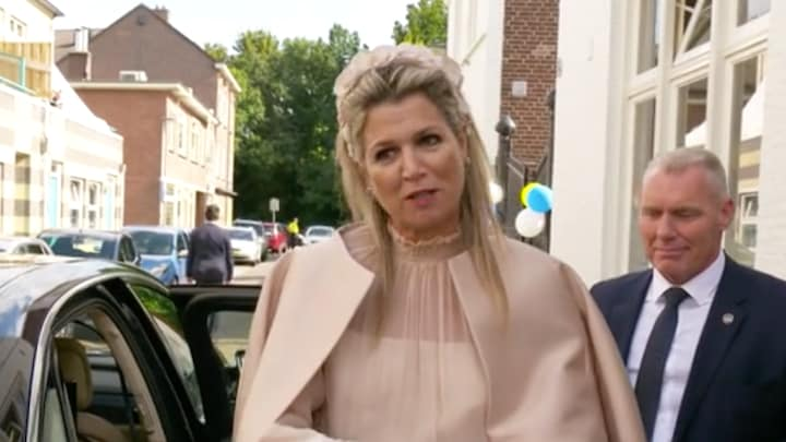 Koningin Máxima reageert op handbreuk: 'Moet het rust geven'