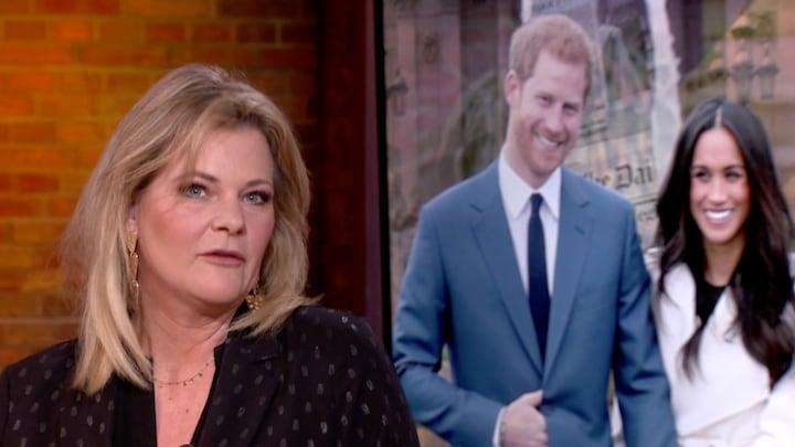Justine: 'Definitieve vertrek Harry en Meghan zag ik al aankomen'